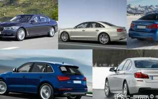Топ 5 самых быстрых дизельных автомобилей 2016