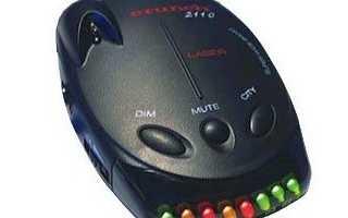 Антирадар Crunch 2110 который определяет несколько сигналов
