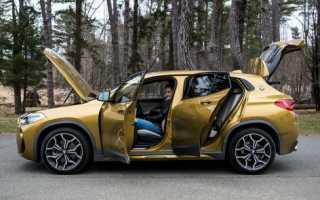 Обзор BMW X2 2018