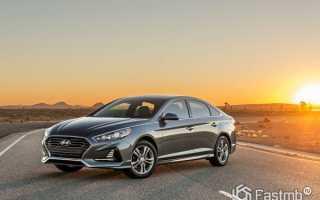 Обзор Hyundai Sonata 2018