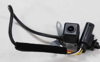 Ремонт и установка камеры заднего вида на KIA Sportage 3