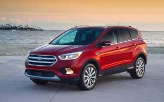 Новый Ford Kuga 2017