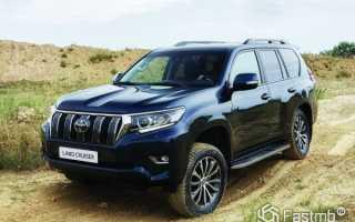 Рестайлинг внедорожника Toyota Land Cruiser Prado 2018