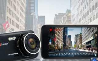 ТОП-6 автомобильных видеорегистраторов JunSun