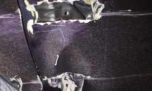 Ремонт передней двери Тойота Сиента