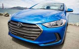 2017 Hyundai Elantra Eco, характеристики и цена
