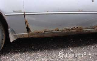 Как отремонтировать сгнившие двери и другие части кузова машины