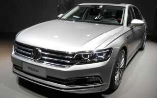 Volkswagen Phideon — первые подробности