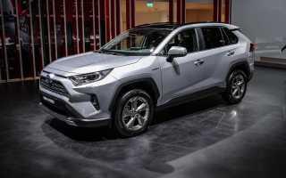 Обзор Toyota RAV4 2018