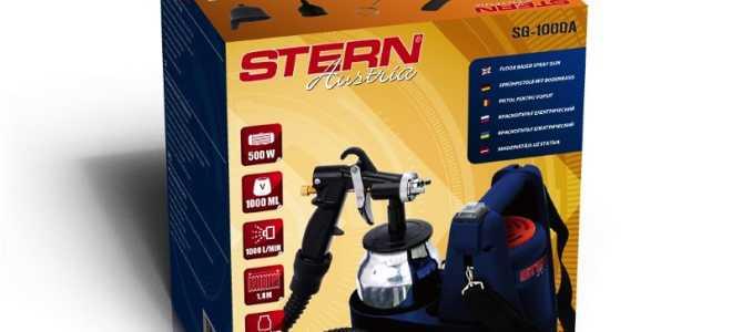 Краскопульт stern sg1000a электрический