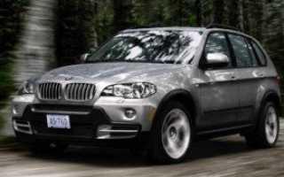 Обзор легендарного внедорожника BMW X5