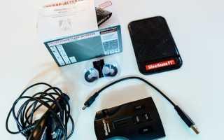 Радар-детектор SilverStone F1 Monaco S с возможностью сохранения настроек