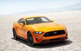 Обновленный Ford Mustang шестого поколения