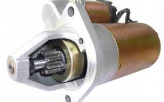 Снятие и установка стартера на автомобиле ВАЗ 2110