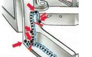 Замена заднего лонжерона автомобилей ВАЗ 2105/07