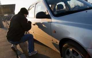Самые угоняемые автомобили на Украине 2018