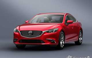 Mazda 6 образца 2015
