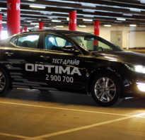 Обзор Kia Optima 2015