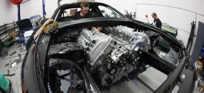 Toyota Supra Криса Радо, мощностью 2500 лошадиных сил