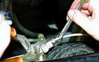 Замена тормозных трубок на автомобиле