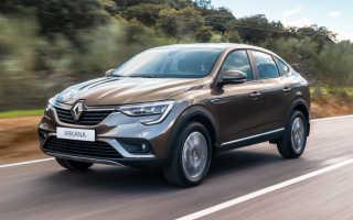 Новый Renault Arkana 2019