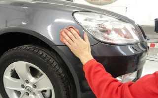 Особенности шпаклевания кузова автомобиля