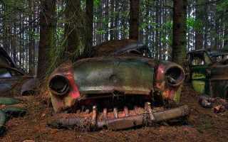 Самые грандиозные кладбища автомобилей