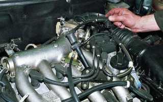 Проверка модуля зажигания ВАЗ 2110: инжектор