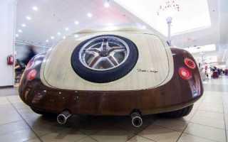Деревянный автомобиль профессионального столяра Питера Сабо