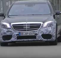 Новый седан Mercedes AMG S63 засекли в Германии