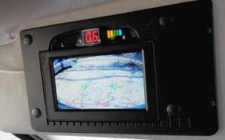 Установка камеры заднего вида на Лада Ларгус Кросс своими руками