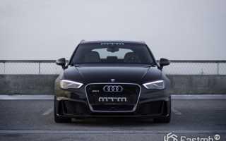 Audi RS3 может больше чем заявлено