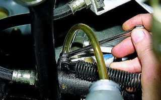 Как правильно прокачать сцепление автомобиля