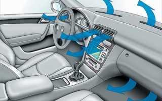 Как охладить салон автомобиля в жару