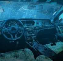Как распознать утопленный автомобиль