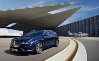 Обзор нового Renault Talisman Estate 2016