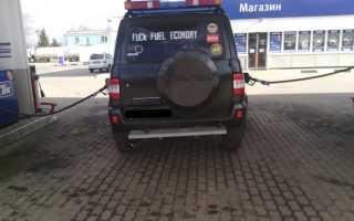 УАЗ Патриот: расход топлива на 100 км