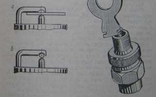 Зазор между электродами свечей зажигания