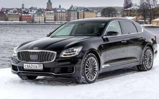 Названа стоимость представительского седана Kia Quoris в России