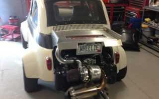 Двигатель от Subaru поставили на Fiat 1957 года