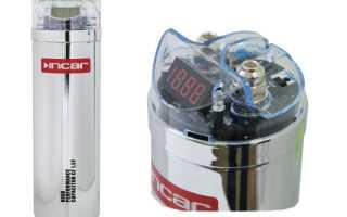 Инструкция и схема подключения конденсатора к сабвуферу (усилителю) в машину