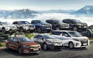 Редкие автомобили Toyota