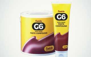 Полировочная паста g6: где используется это полировальное средство?