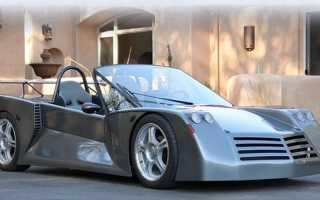 Житель Великобритании создал спорткар с собственным дизайном на базе Мазды
