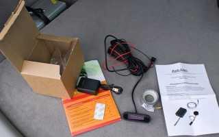 Установка электромагнитного ленточного парктроника без сверления бампера