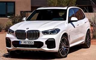 Обзор BMW X5 2019