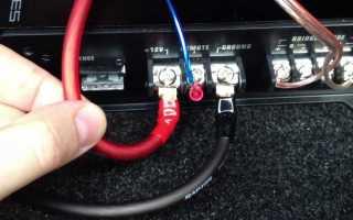 Подключение сабвуфера и усилителя к магнитоле в машине по схеме