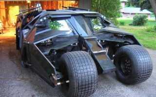 """Подробности конструирования копии Бэтмобиля из фильма """"Бэтмен: Начало"""""""