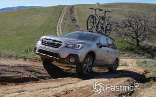 Subaru Outback 2018 — оптимальный баланс практичности и проходимости