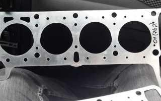 Замена прокладки двигателя